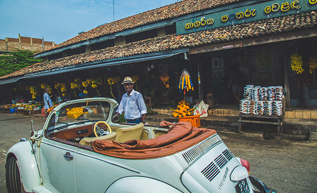 Around Galle by classic car - Experience - Sri Lanka In Style
