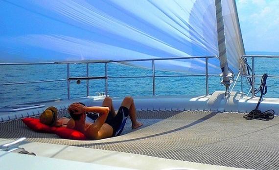 Sailing adventure by catamaran - Wadduwa -  Sri Lanka In Style