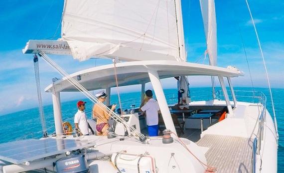 Sailing adventure by catamaran – Beruwela - Bentota -  Sri Lanka In Style