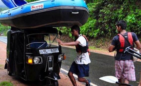 Rafting and Canyoning on the Kelani River - Kithulgala -  Sri Lanka In Style