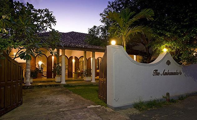 Ambassador's House - Sri Lanka In Style