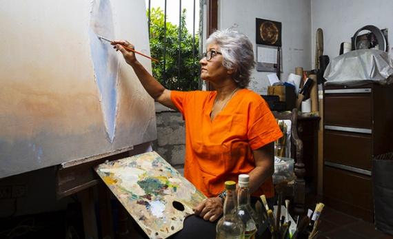 Modern art with a Sri Lankan twist - Colombo -  Sri Lanka In Style