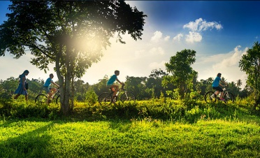 Scenic guided bicycle trails - The Fortress Resort and Spa - Sri Lanka In Style