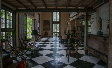 Bawa's Lunuganga Gardens - River House - Sri Lanka In Style