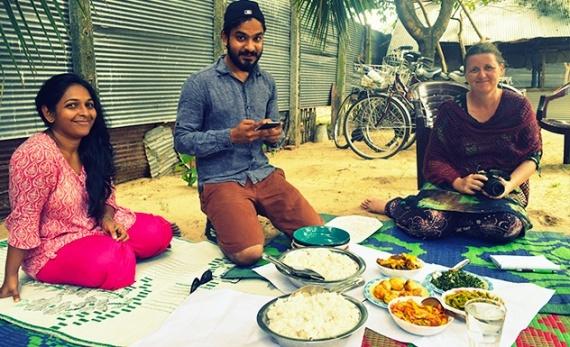Lunch with a local family - Batticaloa -  Sri Lanka In Style