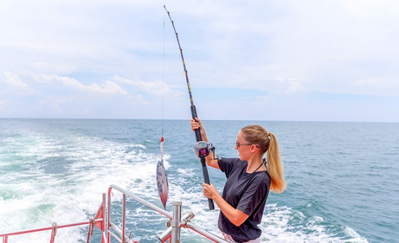 Deep Sea Fishing on Weligama Bay - Weligama -  Sri Lanka In Style